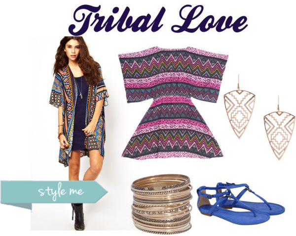 tribal prints and ethnic boho jewelry